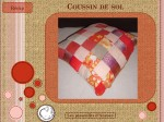 chute, tissu, up cycling, recyclage, rembourrage, coussin, sol, DIY